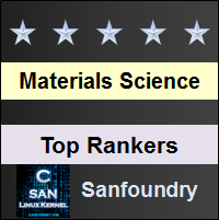 Top Rankers - Materials Science