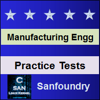 Manufacturing Processes I Practice Tests