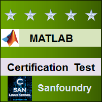 MATLAB Certification Test