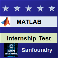 MATLAB Internship Test