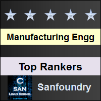 Top Rankers - Manufacturing Processes I