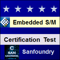 Embedded System Certification Test