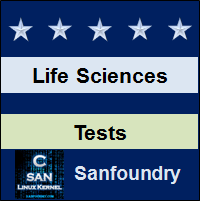 Life Sciences Tests