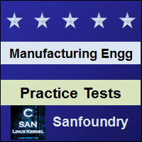 Manufacturing Processes II Practice Tests