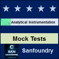 Analytical Instrumentation Mock Tests