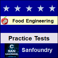 Food Engineering Practice Tests