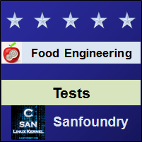 Food EngineeringTests