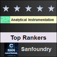 Top Rankers - Analytical Instrumentation