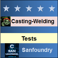Casting, Forming and Welding ITests