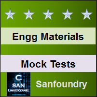 Engineering Materials and Metallurgy Mock Tests