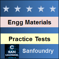 Engineering Materials and Metallurgy Practice Tests