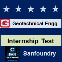 Geotechnical Engineering Internship Test