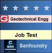Geotechnical Engineering Job Test