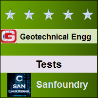 Geotechnical Engineering Tests