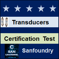 Instrumentation Transducers Certification Test