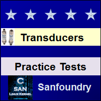 Instrumentation Transducers Practice Tests