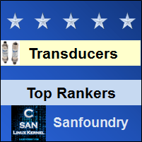 Top Rankers - Instrumentation Transducers