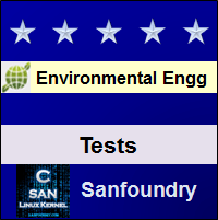 Environmental Engineering Tests Questions and Answers