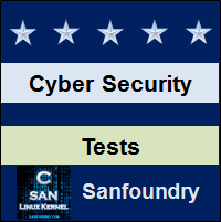 Cyber Security Tests
